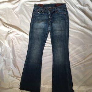 Vintage Blue 2 jeans flare 25